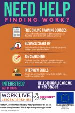 Work Live Leicestershire - Helping People Find Work